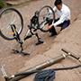 Bicycle and Repair Kit